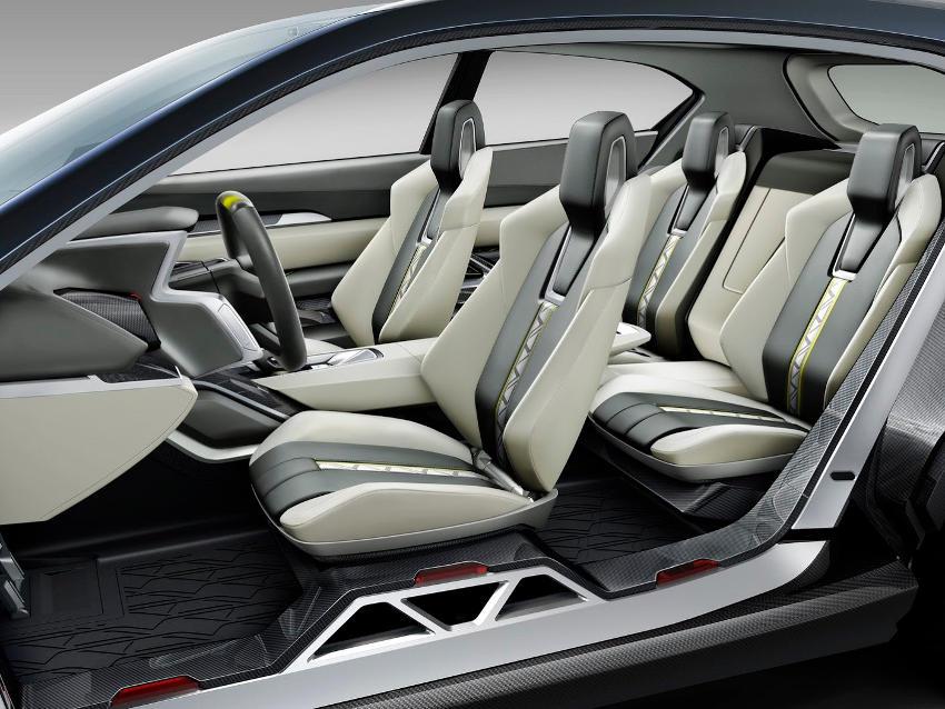 интерьер Subaru VIZIV-2 Concept 2014