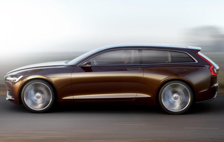концепт Volvo Estate сбоку