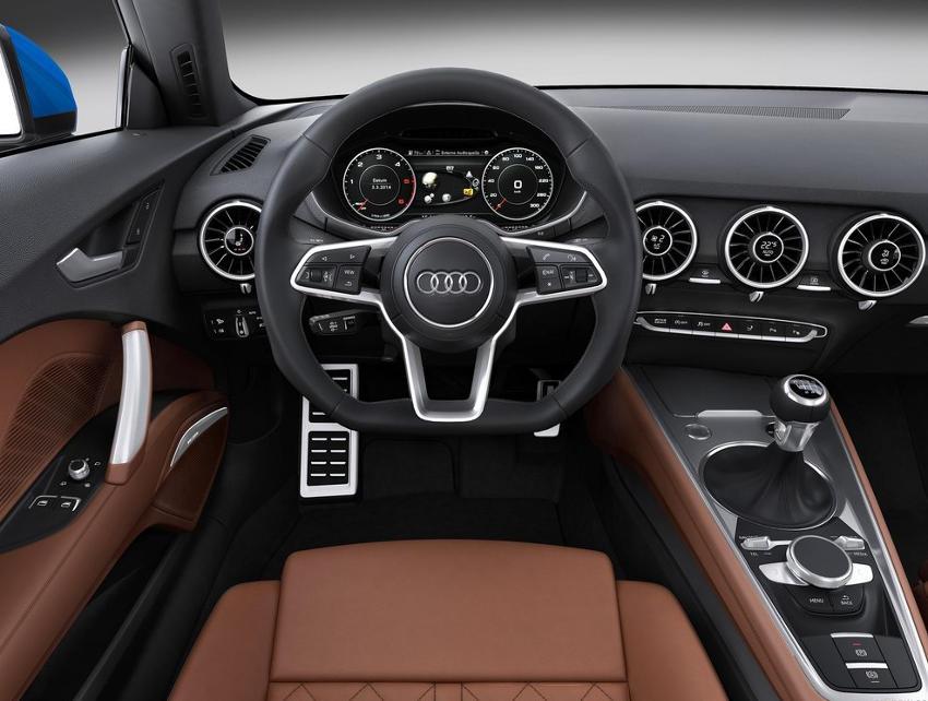 салон Audi TT Coupe 2015
