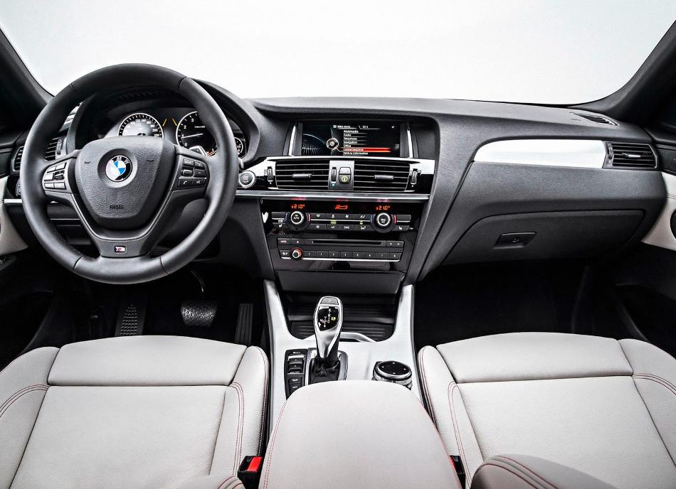 салон BMW X4 2015 года