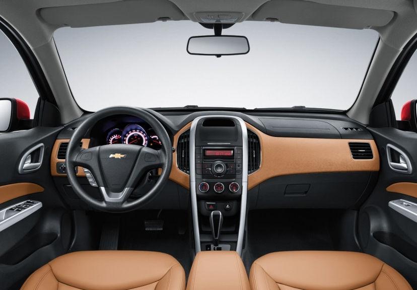 салон Chevrolet Optra 2015 года