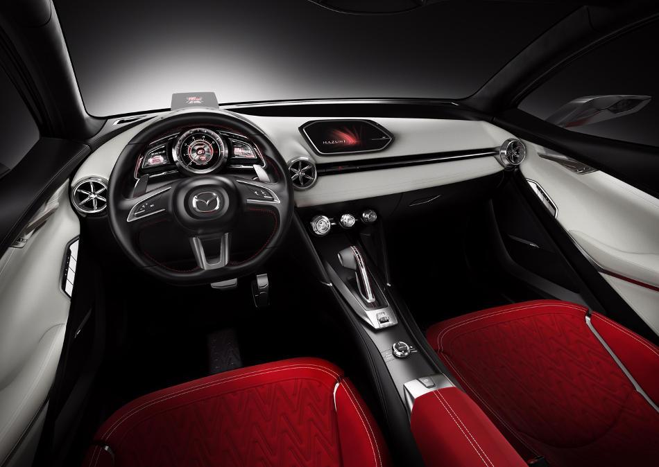 салон Mazda Hazumi Concept