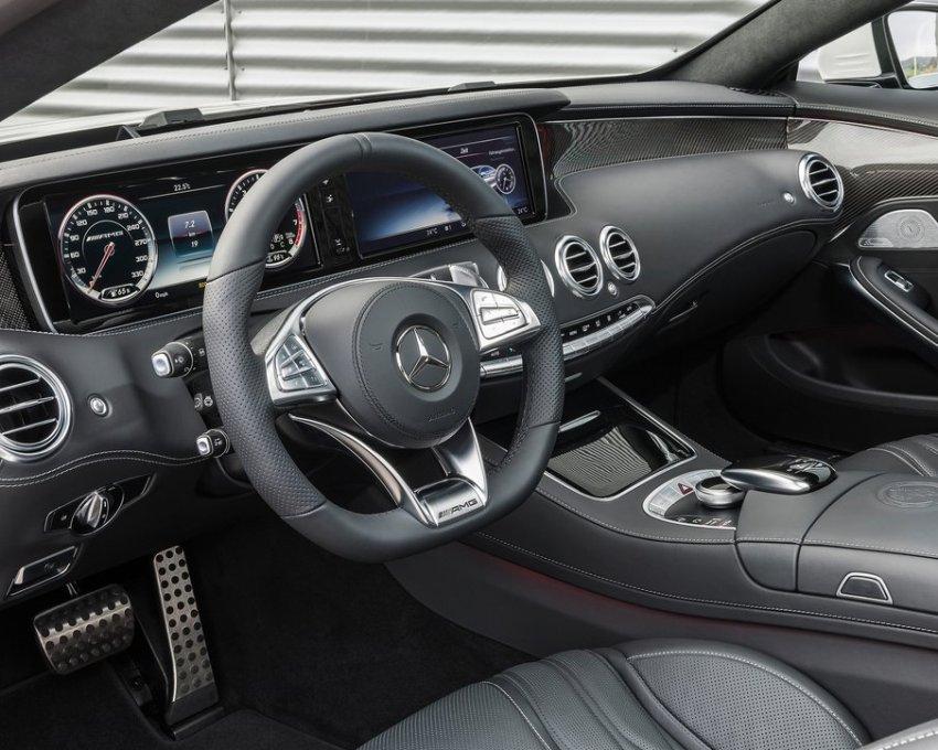 салон Mercedes S63 AMG Coupe 2015