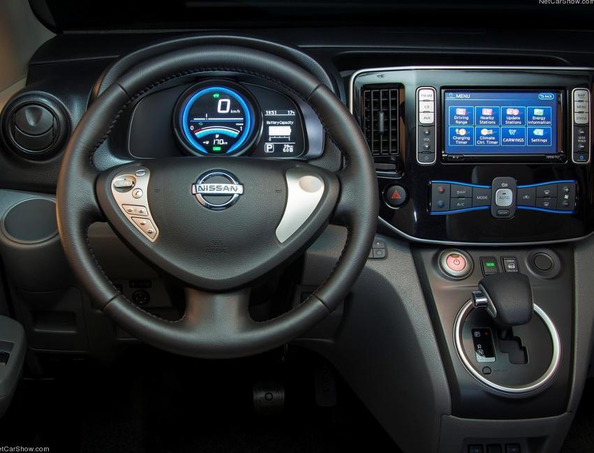 салон Nissan e-NV200 2015