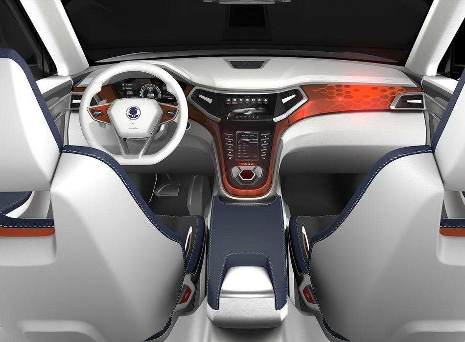 салон SsangYong XLV Concept 2014