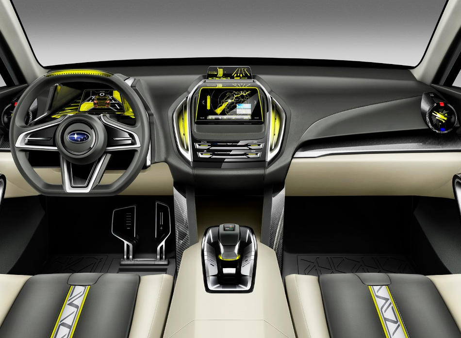 салон Subaru VIZIV-2 Concept 2014