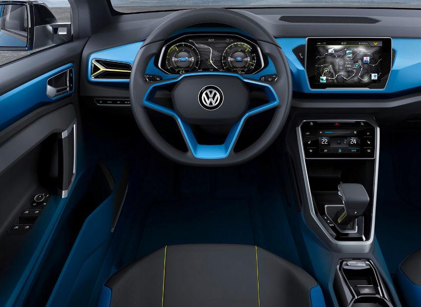 салон Volkswagen T-Roc 2014