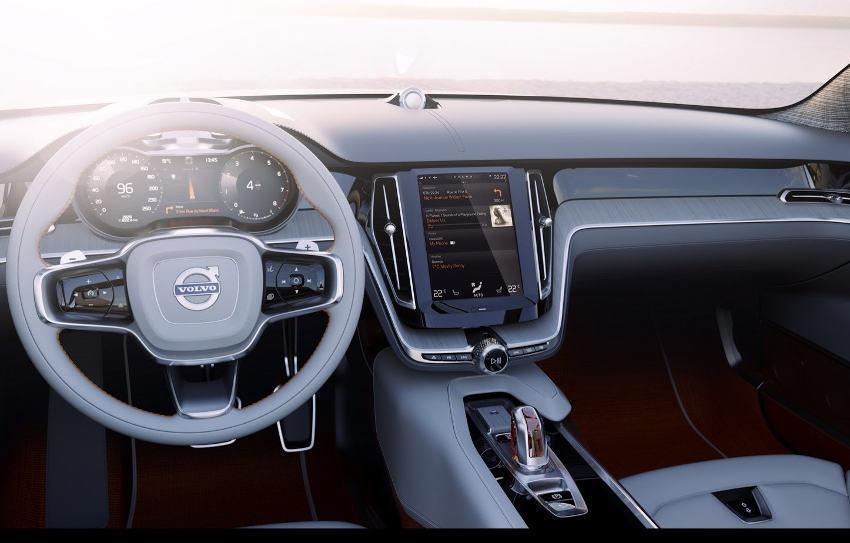 салон Volvo Estate Concept 2015