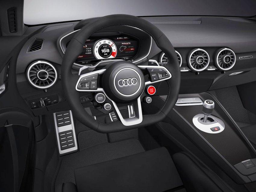 салон концепта Audi TT quattro Sport 2014