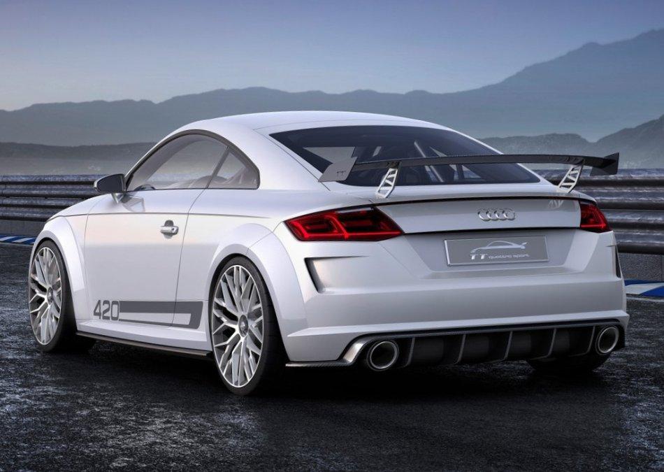 спойлер Audi TT quattro Sport Concept