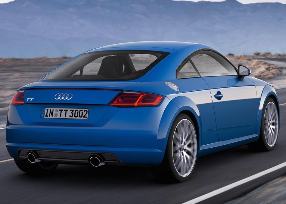 задняя часть Audi TT Coupe 2015