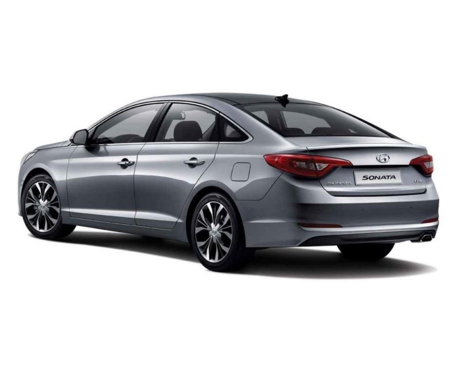 задняя часть Hyundai Соната 2015