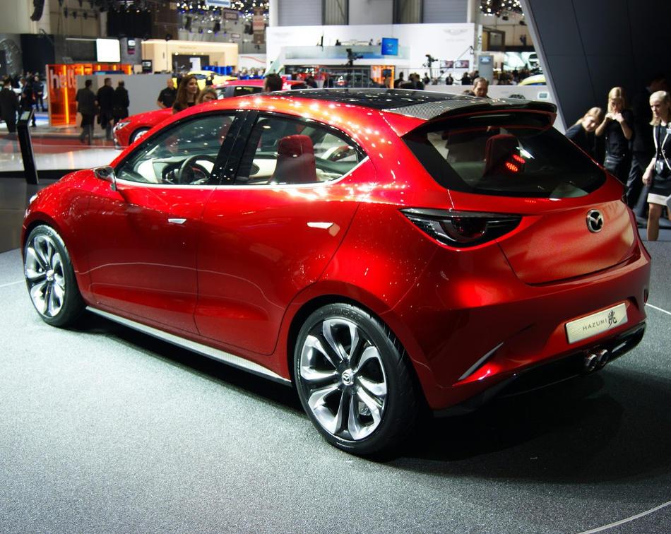 задняя часть Mazda Hazumi Concept 2014