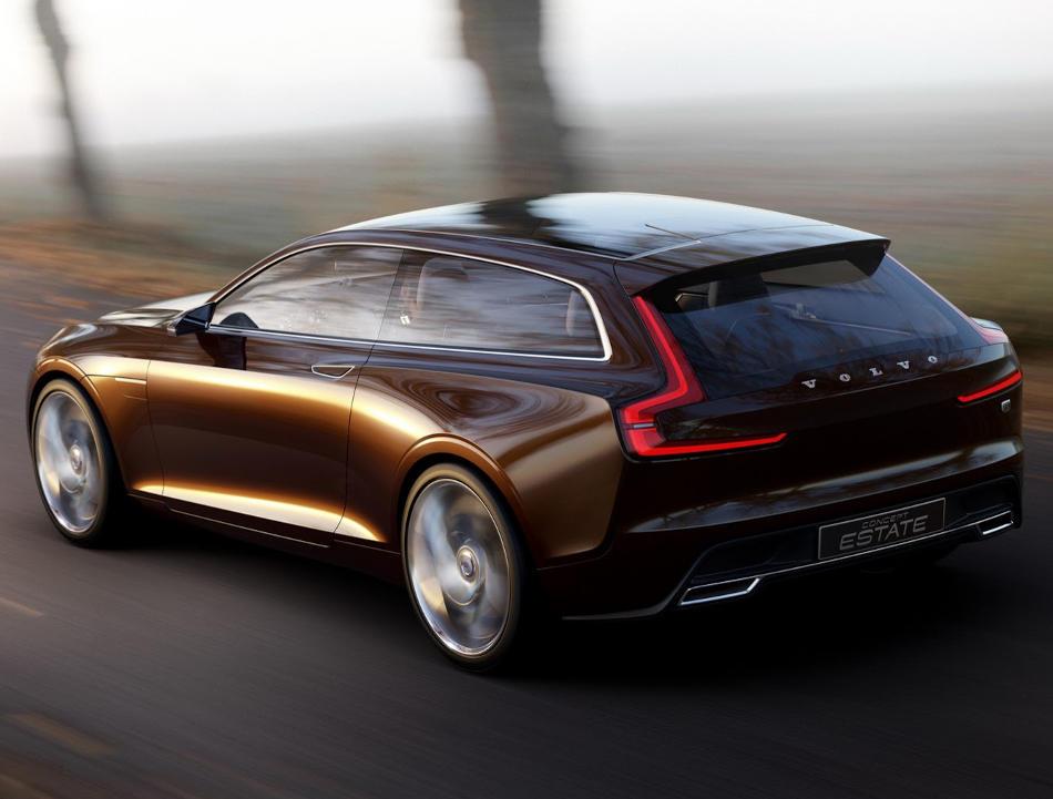 задняя часть Volvo Estate Concept