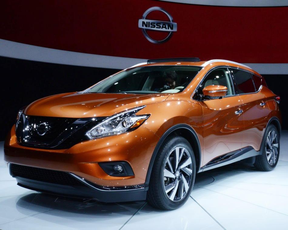 фары и бампер Nissan Murano 2015