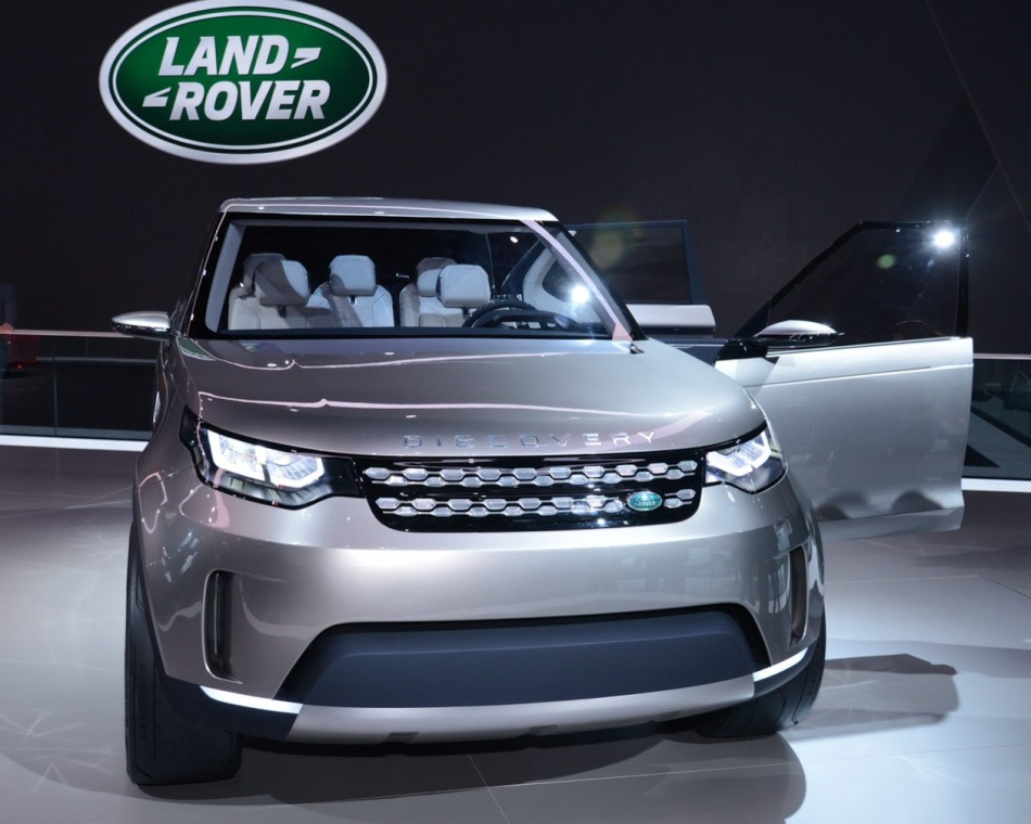 фото Land Rover Discovery Vision 2014