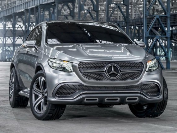 фото Mercedes Coupe SUV Concept 2014