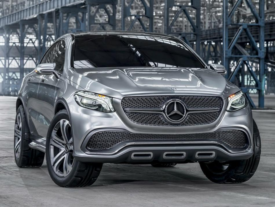 фото Mercedes Coupe SUV Concept 2014