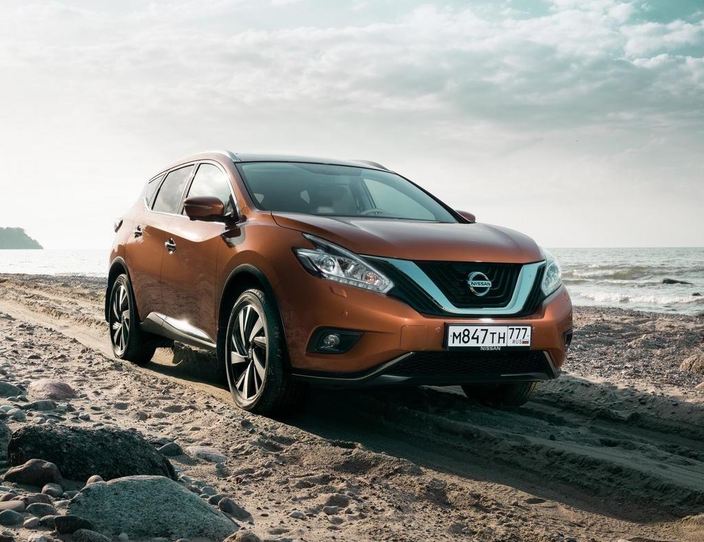 фото Nissan Murano 2016 в России