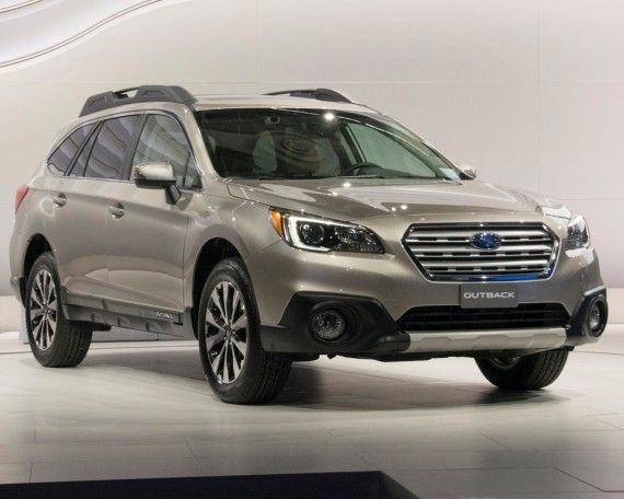 фото Subaru Outback 2015