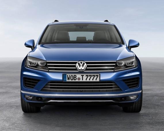 фото Volkswagen Touareg 2015 года
