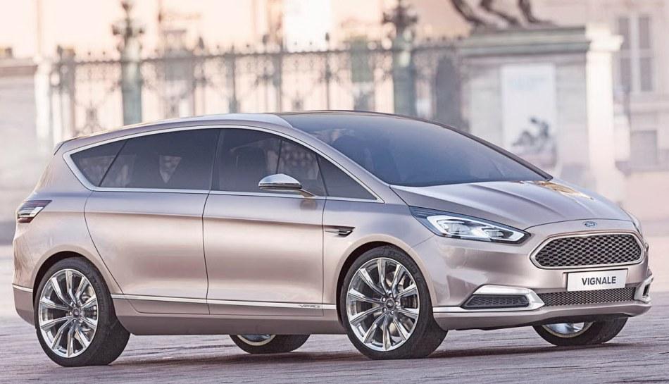 фото концепта Ford S-Max Vignale 2014