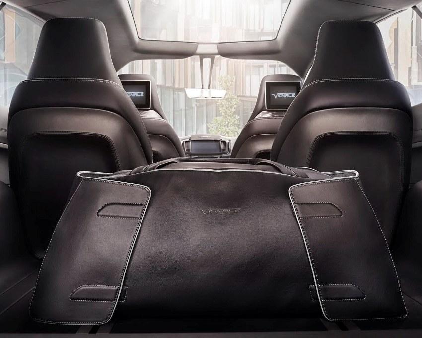 интерьер Ford S-Max Vignale Концепт 2014