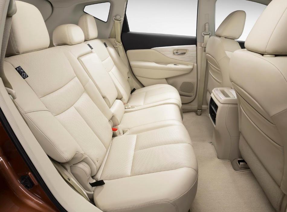 интерьер Nissan Murano 2015 года