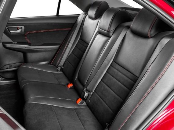 интерьер Toyota Camry 2015 США