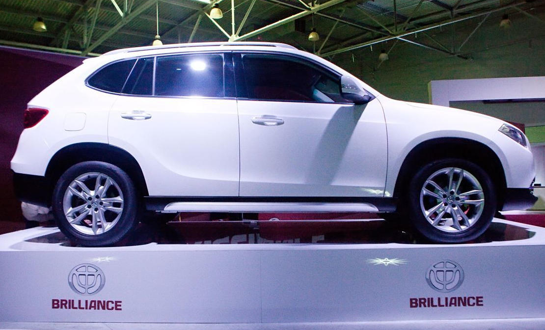 китайский Brilliance V5 сбоку