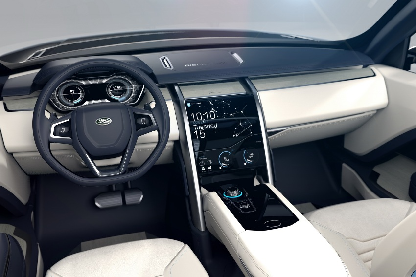 салон Land Rover Discovery Vision 2014