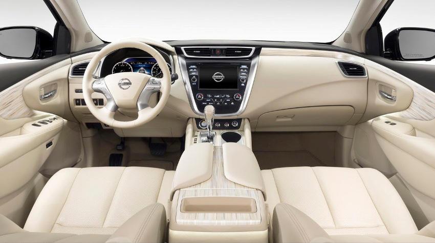салон Nissan Murano 2015 года