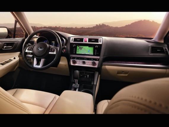 салон Subaru Outback 2015 года