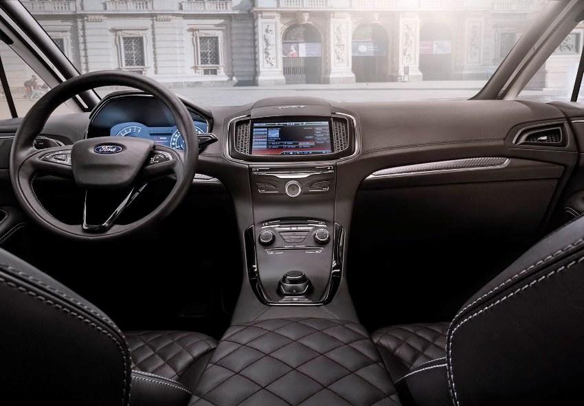 салон концепта Форд S-Max Vignale