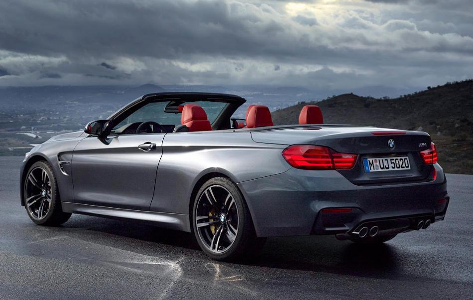 задняя часть BMW M4 Convertible 2015