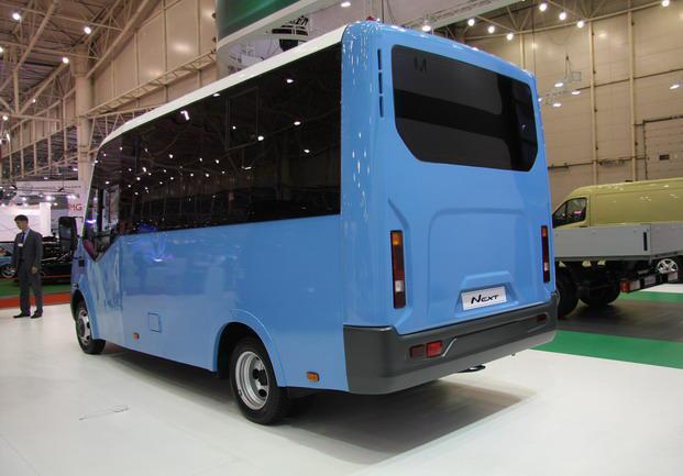 задняя часть Газель Некст 2014 Автобус