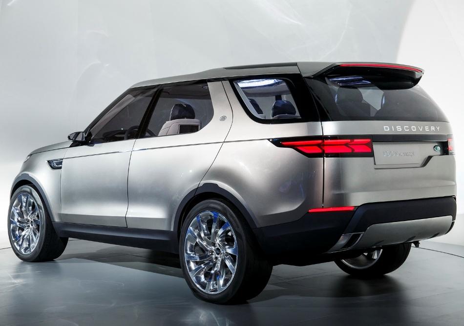 задняя часть Land Rover Discovery Vision 2014