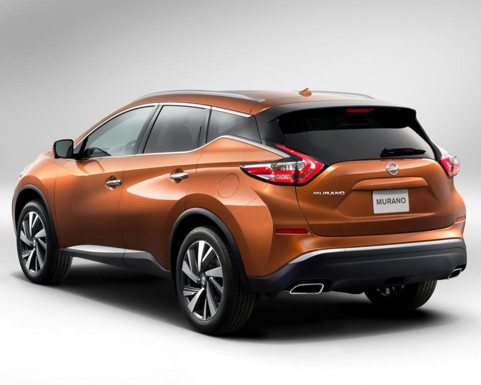 задняя часть Nissan Murano 2015