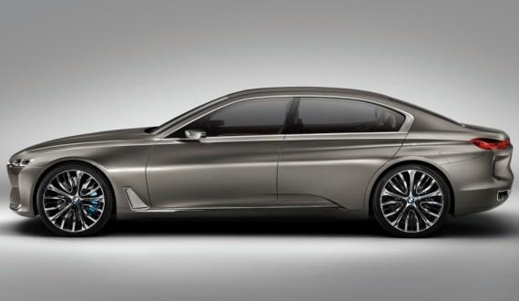 БМВ Vision Future Luxury 2014 сбоку