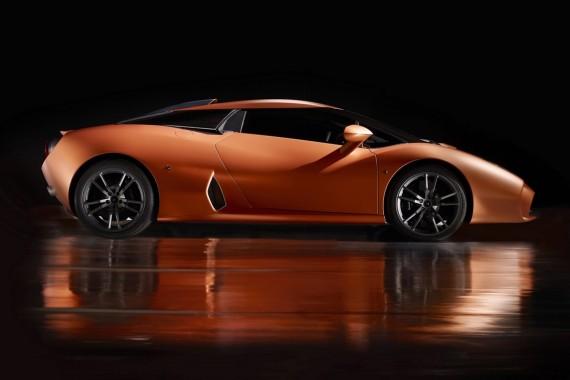 Lamborghini 5-95 Zagato сбоку