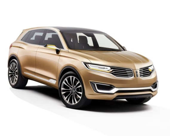 бампер и фары Lincoln MKX Concept 2014