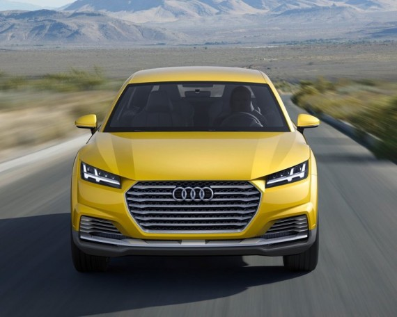 фото Audi TT Offroad Concept 2014
