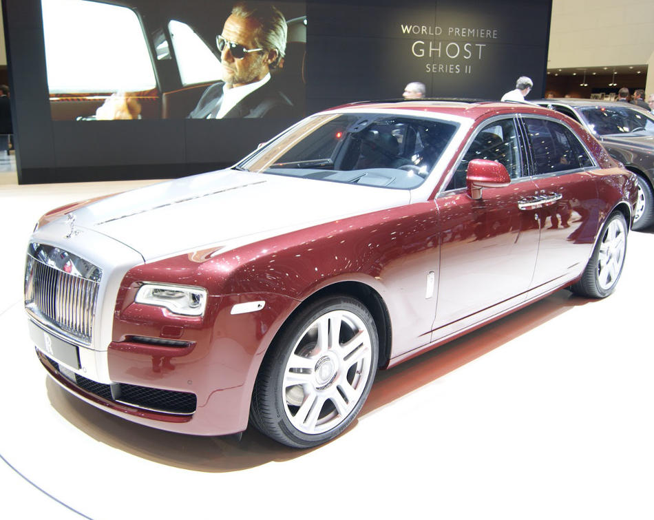 фото Rolls-Royce Ghost Series II 2015 года