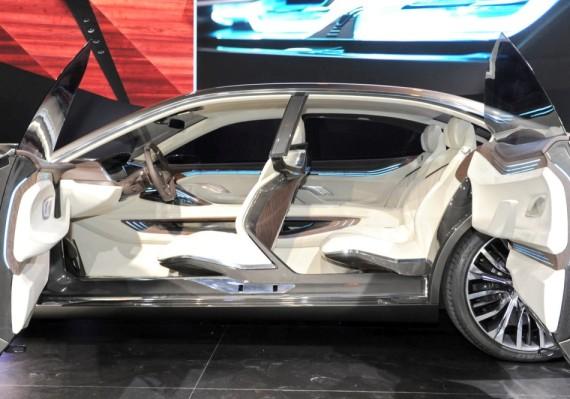 интерьер BMW Vision Future Luxury 2014