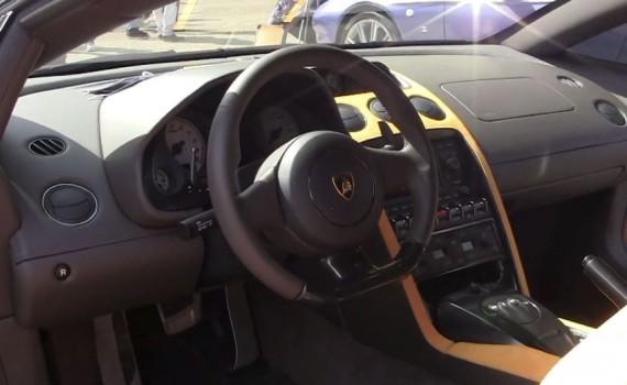 интерьер Lamborghini 5-95 Zagato