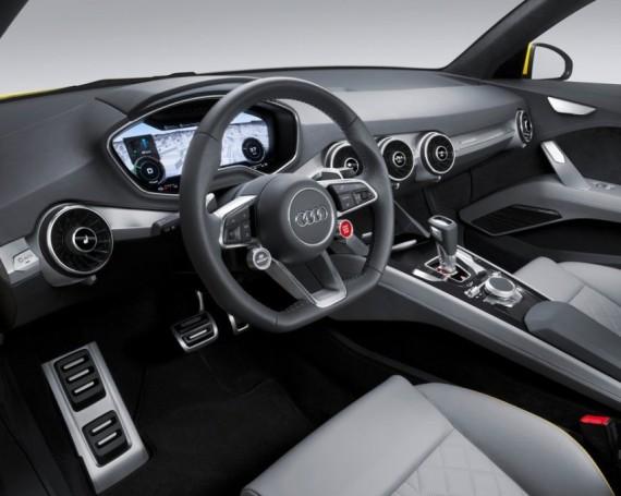 салон Audi TT Offroad Concept 2014