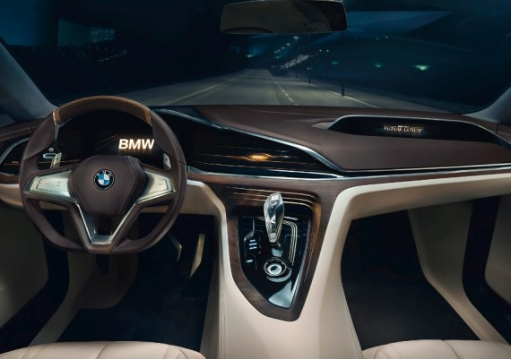 салон BMW Vision Future Luxury 2014