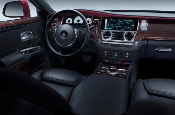 салон Rolls-Royce Ghost Series II 2015