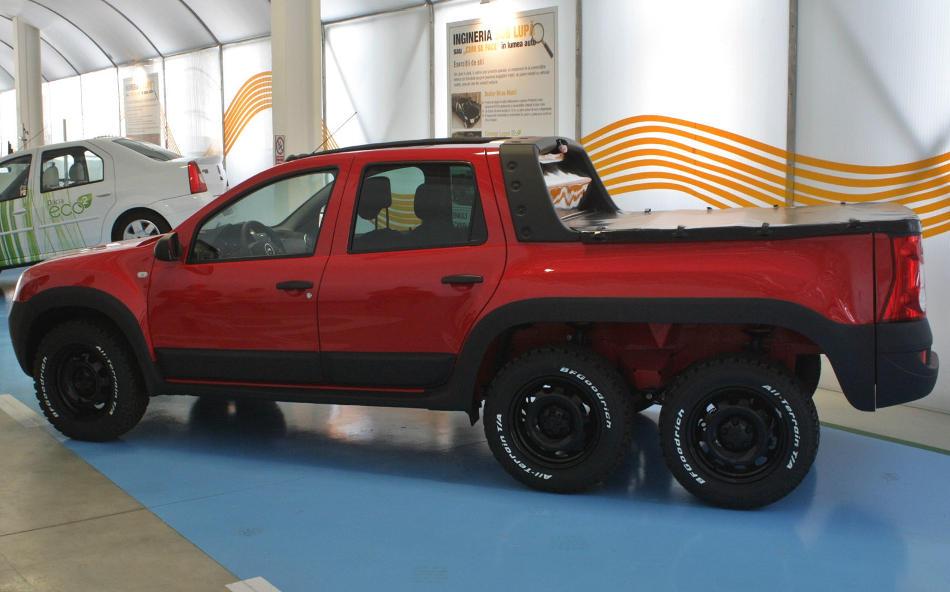шестиколёсный Renault Duster 2014