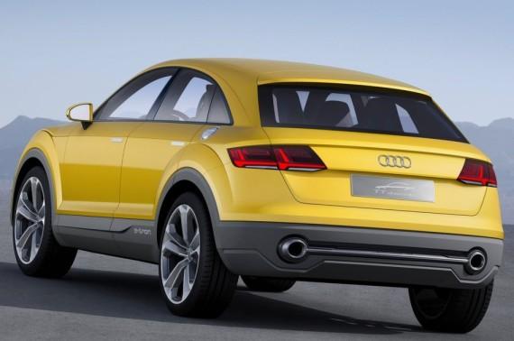 задние фонари Audi TT Offroad Concept 2014